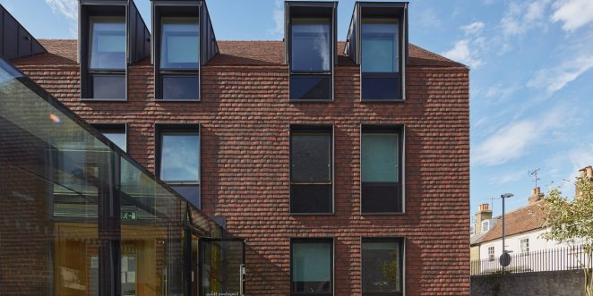 Kingsdown House Using Alban Sussex Blend Roof Tiles by Sandtoft